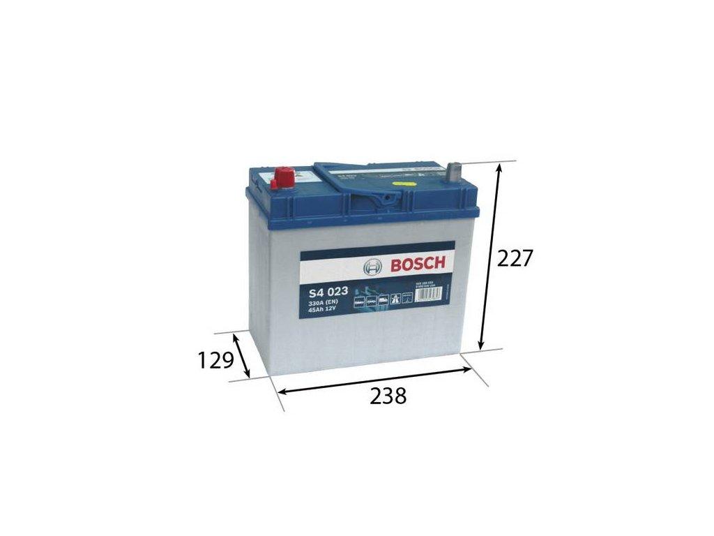 Startovací baterie BOSCH S4 0 092 S40 230