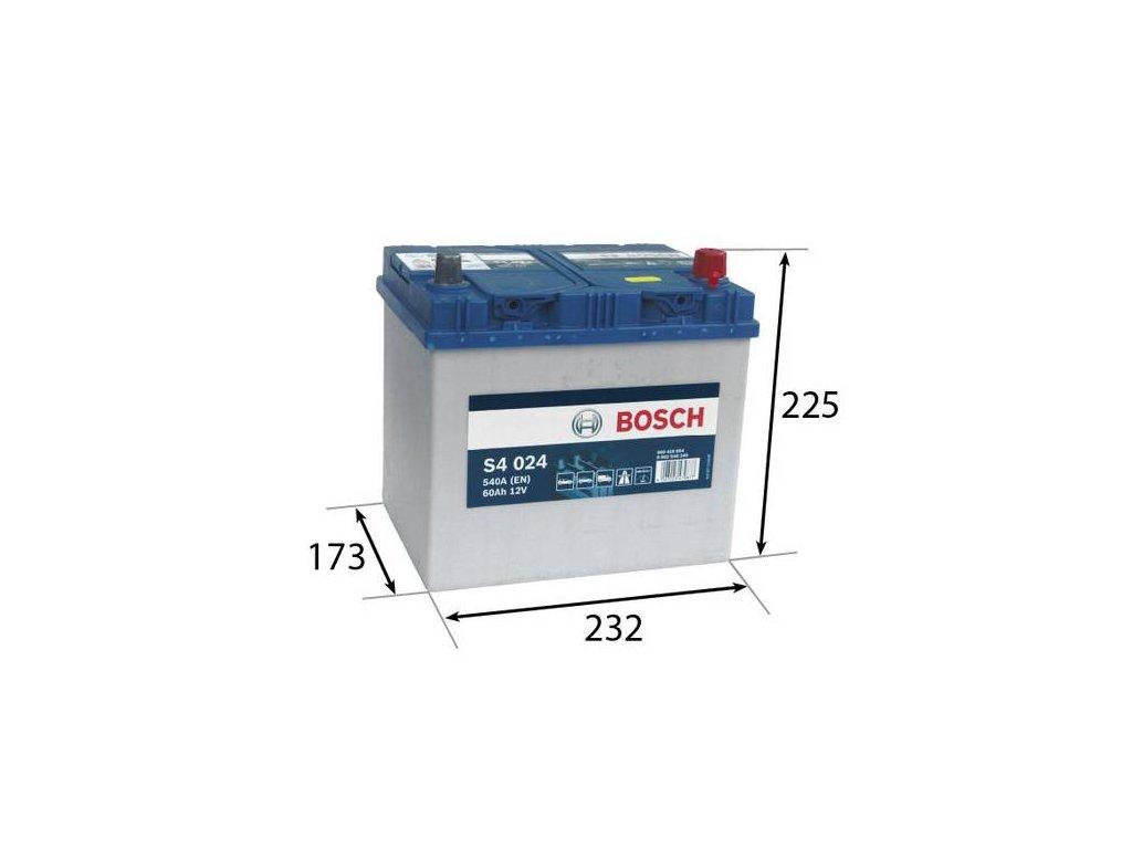 Startovací baterie BOSCH S4 0 092 S40 240