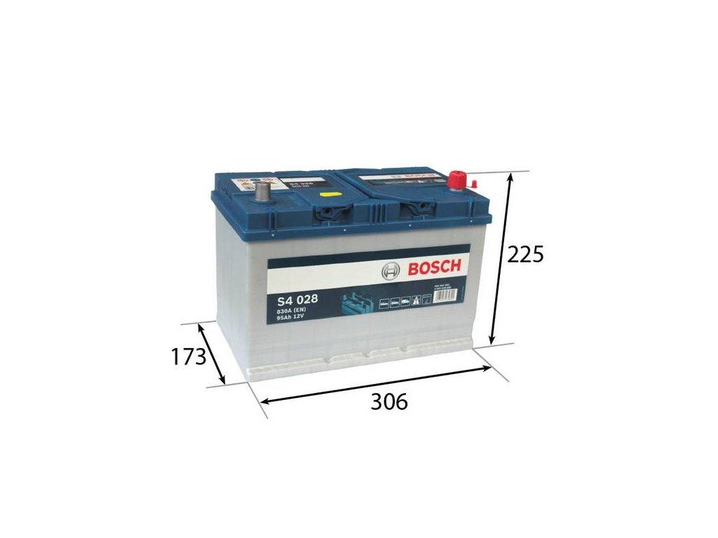 Startovací baterie BOSCH S4 0 092 S40 280