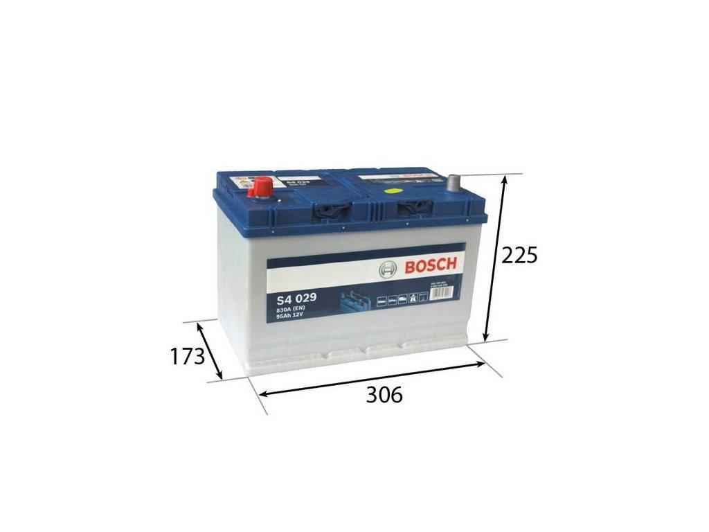 Startovací baterie BOSCH S4 0 092 S40 290