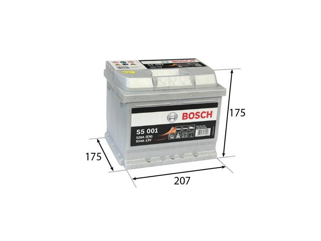 Startovací baterie BOSCH S5 0 092 S50 010