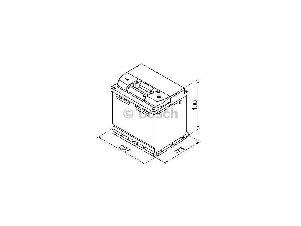 Startovací baterie BOSCH S5 0 092 S50 020