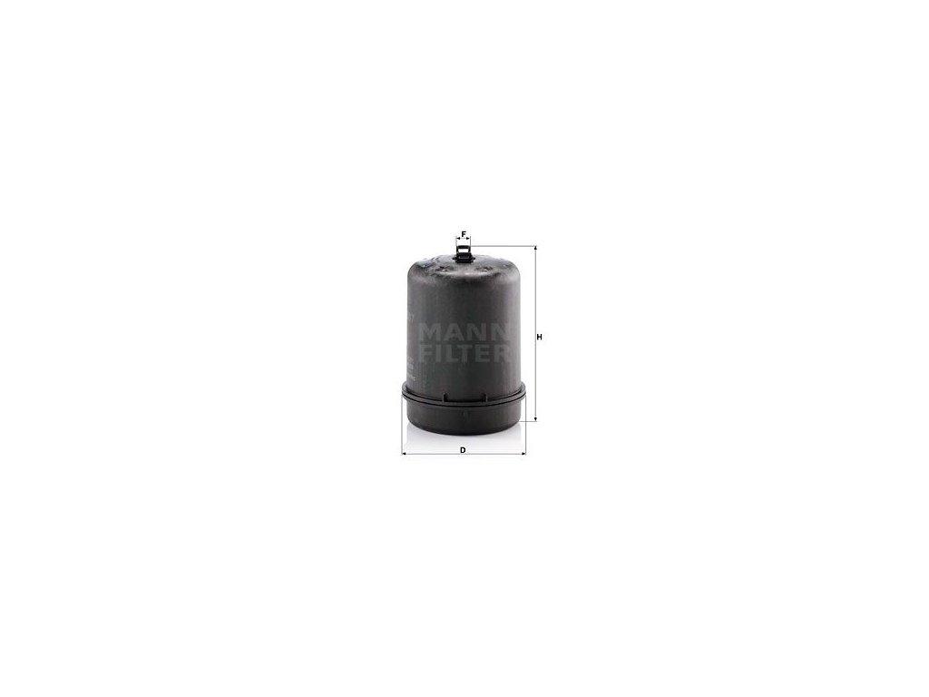 Olejový filtr MANN-FILTER ZR 9007 z