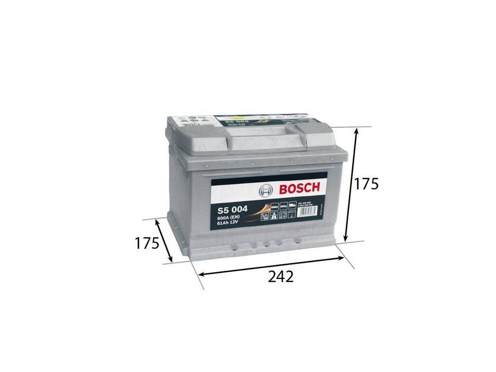 Startovací baterie BOSCH S5 0 092 S50 040