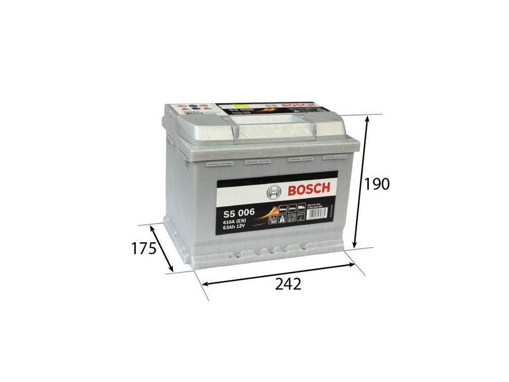 Startovací baterie BOSCH S5 0 092 S50 060