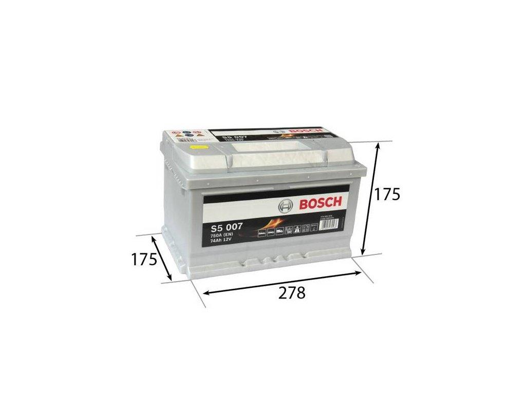 Startovací baterie BOSCH S5 0 092 S50 070