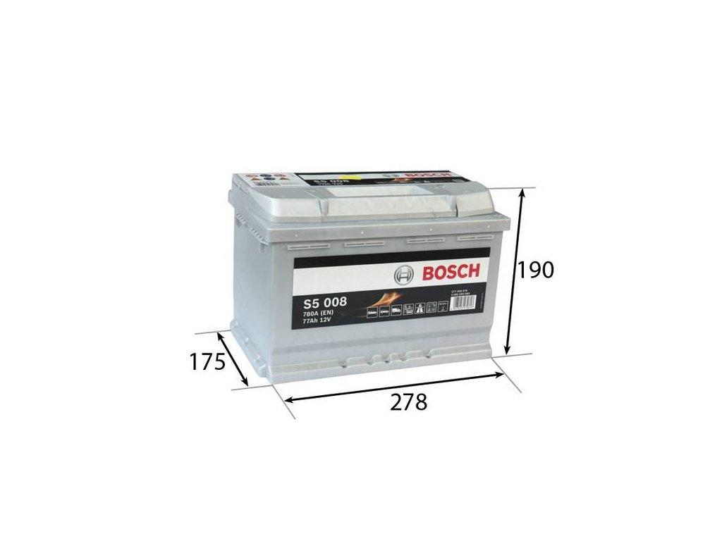 Startovací baterie BOSCH S5 0 092 S50 080