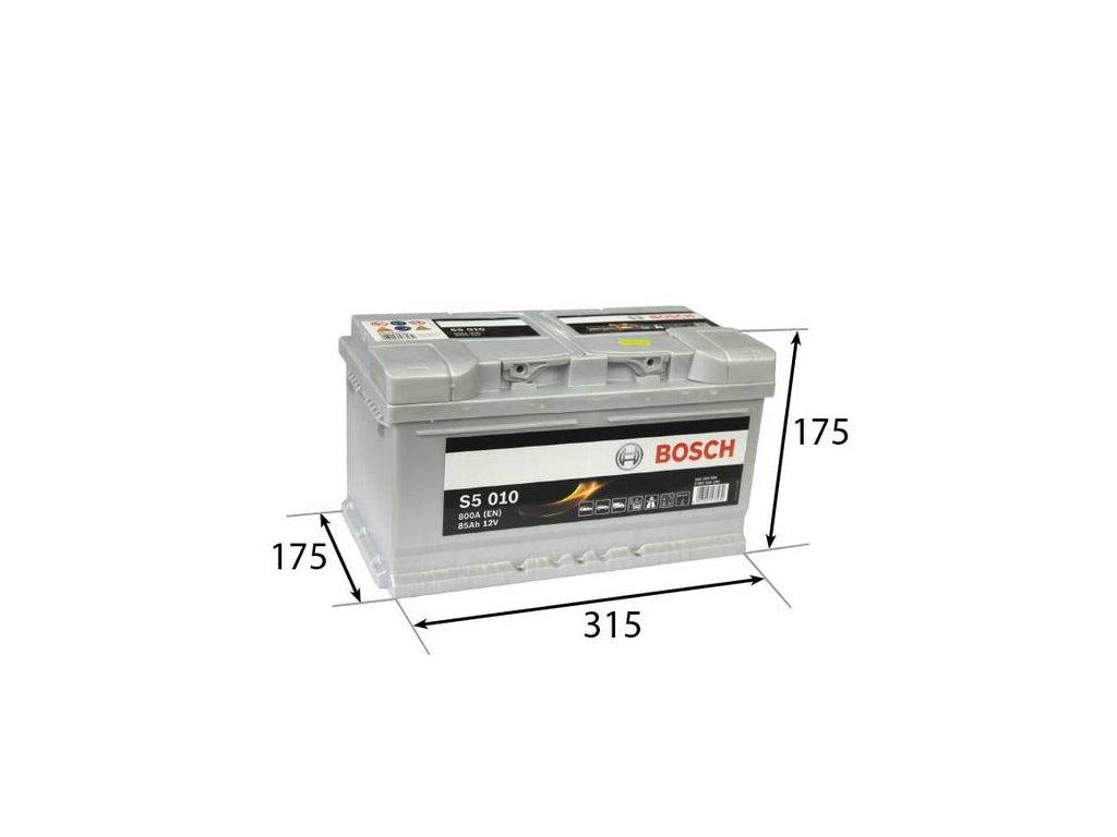 Startovací baterie BOSCH S5 0 092 S50 100