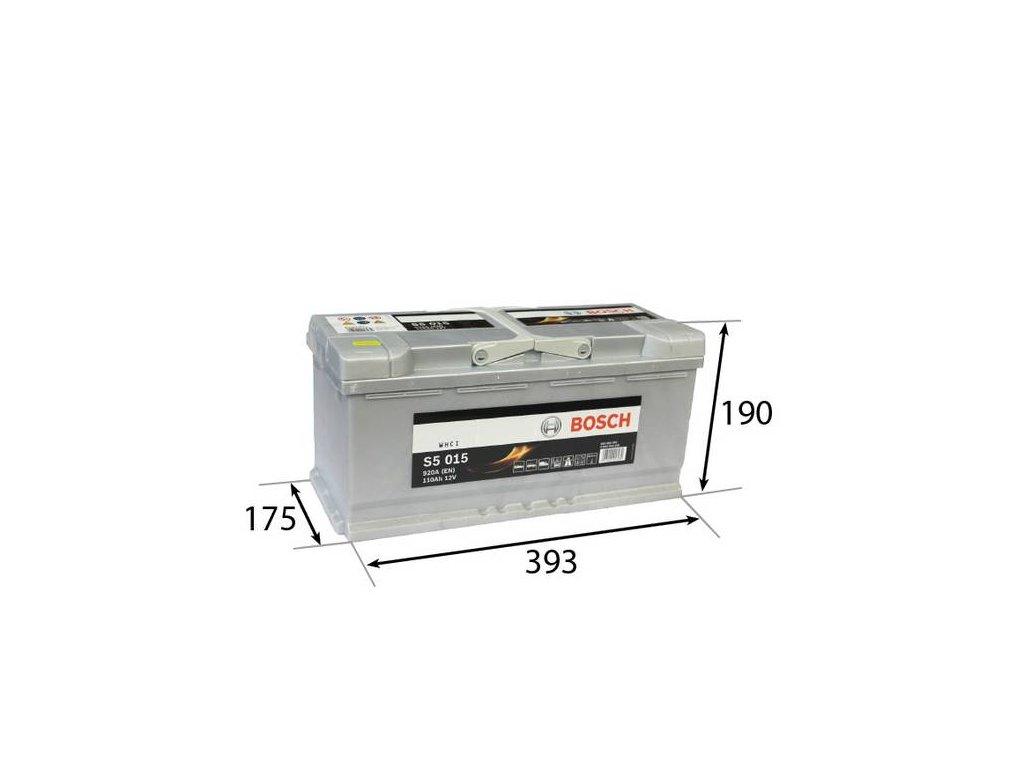 Startovací baterie BOSCH S5 0 092 S50 150