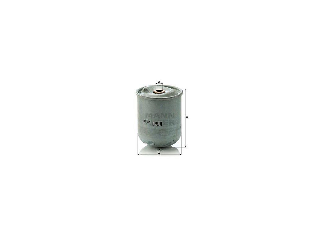 Olejový filtr MANN-FILTER ZR 903 x