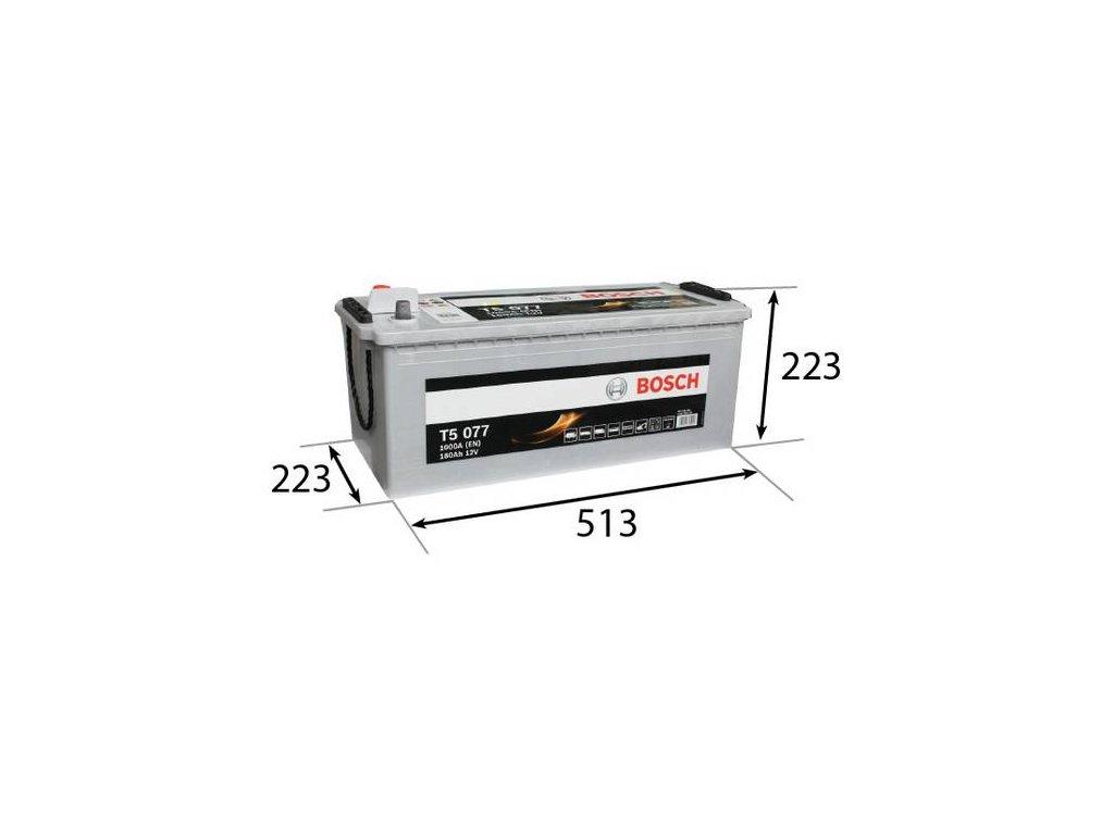 Startovací baterie BOSCH T5 0 092 T50 770