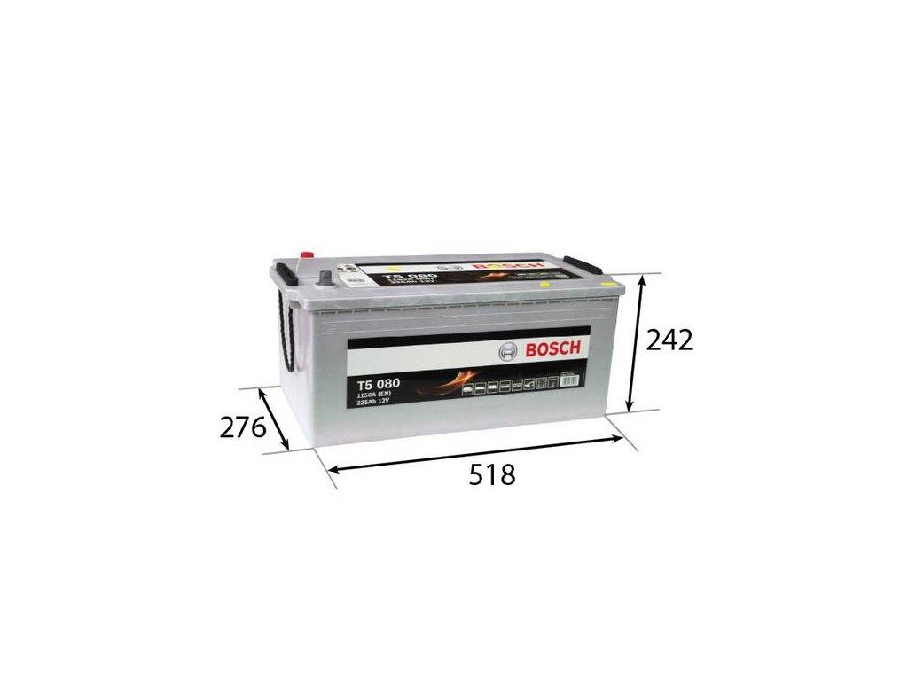 Startovací baterie BOSCH T5 0 092 T50 800