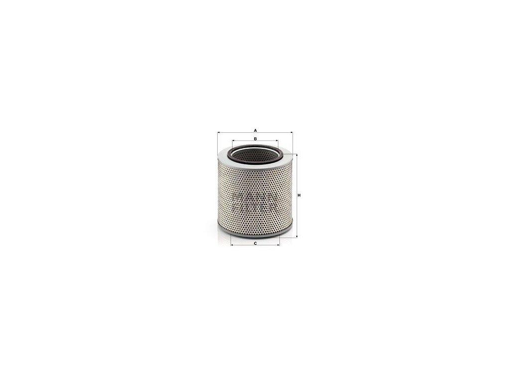 Olejový filtr MANN-FILTER H 20 211