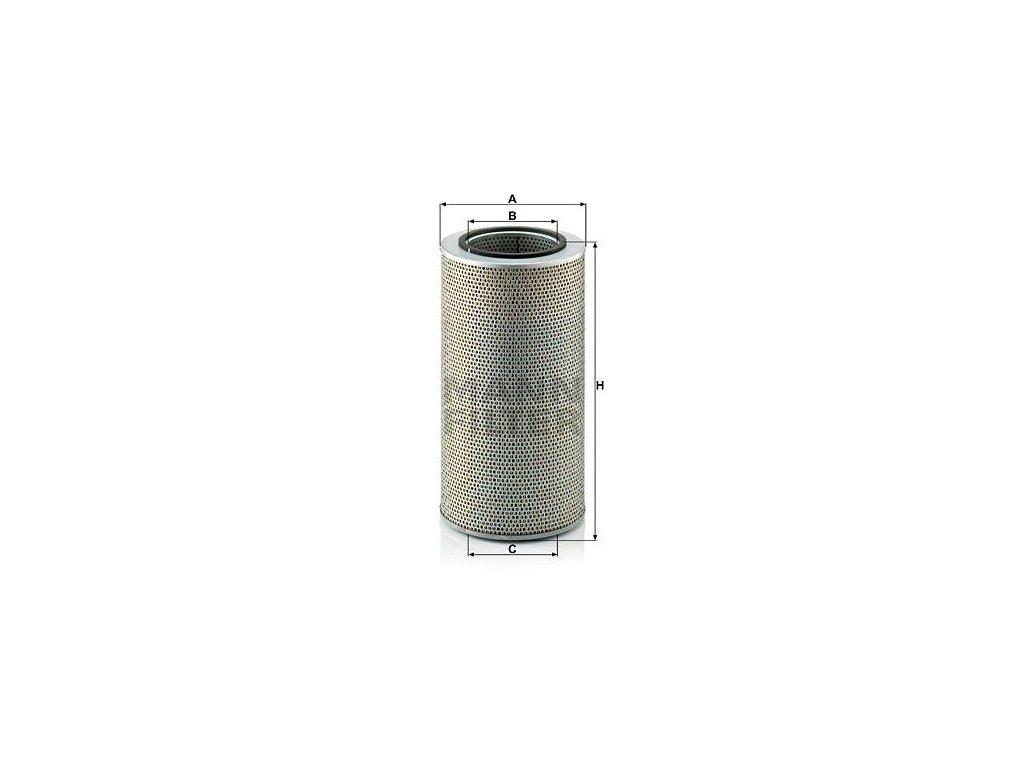 Olejový filtr MANN-FILTER H 20 440