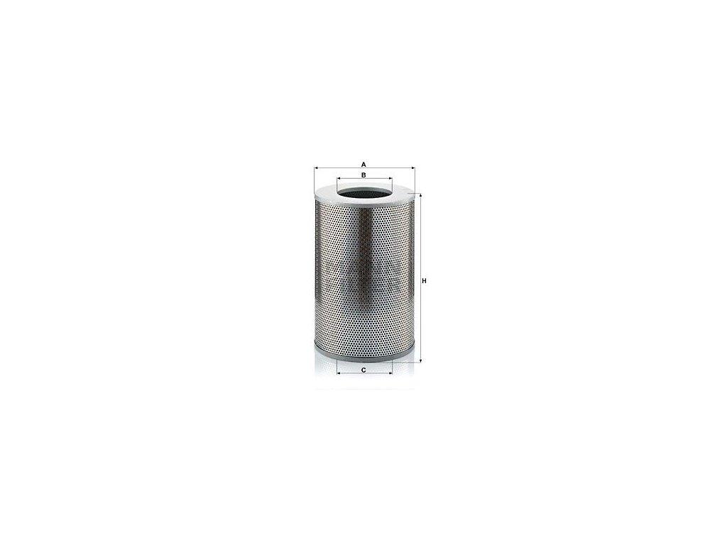 Olejový filtr MANN-FILTER H 25 669