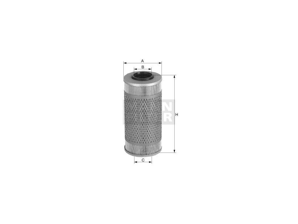 Olejový filtr MANN-FILTER H 43/2