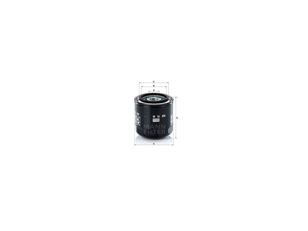 Olejový filtr MANN-FILTER W 10 050