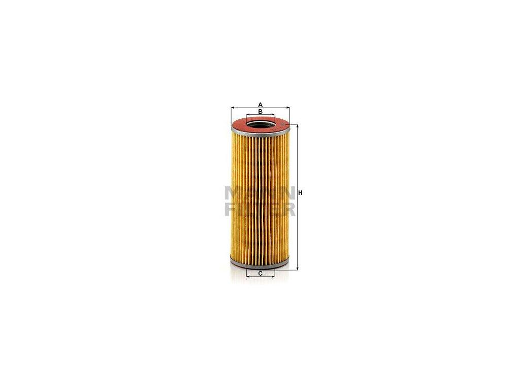 Olejový filtr MANN-FILTER H 712 k