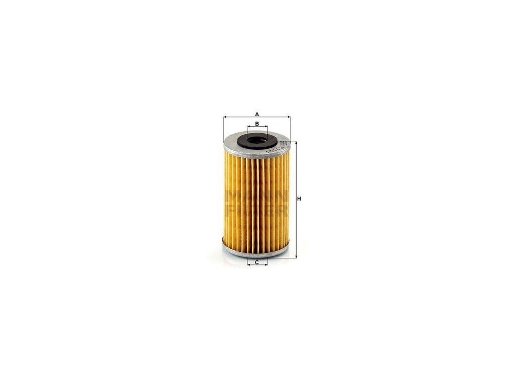 Olejový filtr MANN-FILTER H 715/1 n