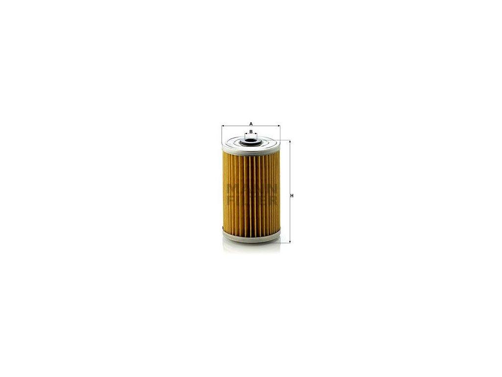 Olejový filtr MANN-FILTER H 719/2
