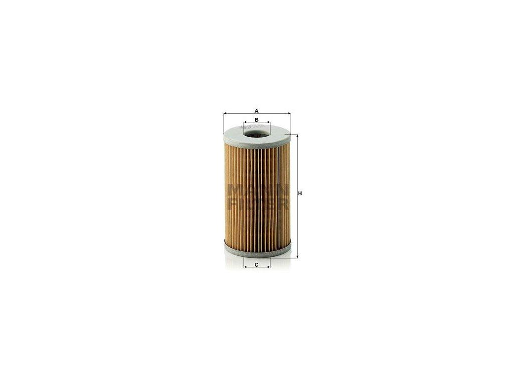 Olejový filtr MANN-FILTER H 720 x