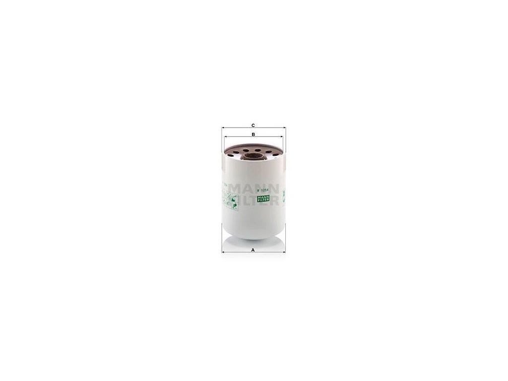 Olejový filtr MANN-FILTER W 1254 x