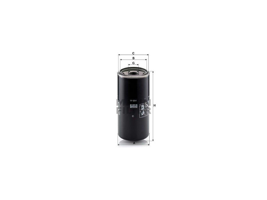 Olejový filtr MANN-FILTER W 1294