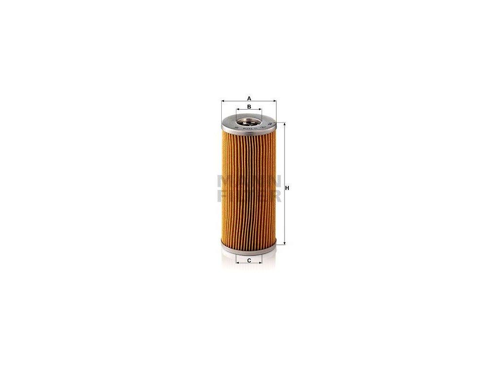 Olejový filtr MANN-FILTER H 727/4