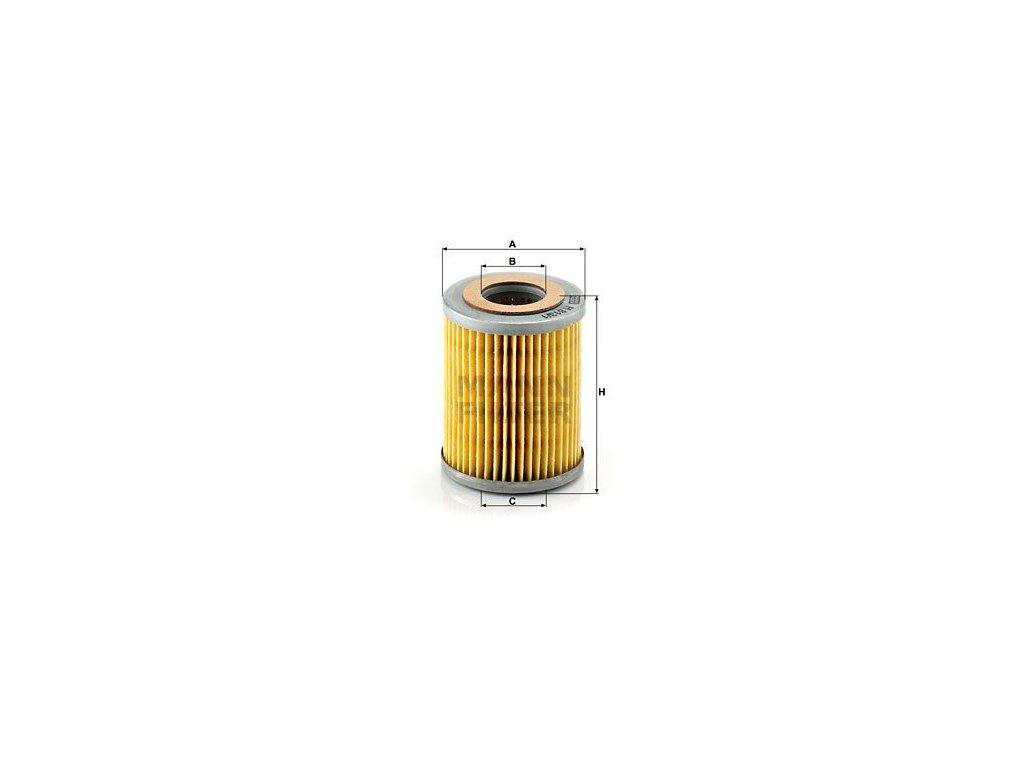 Olejový filtr MANN-FILTER H 813/1 n