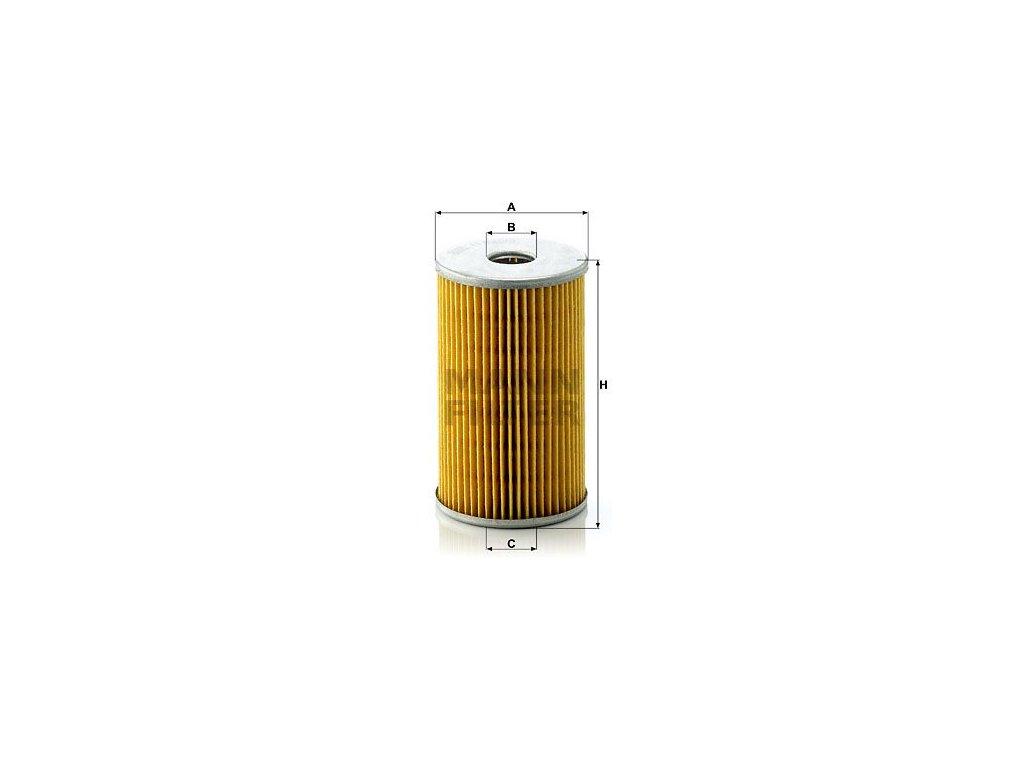 Olejový filtr MANN-FILTER H 820/3 x