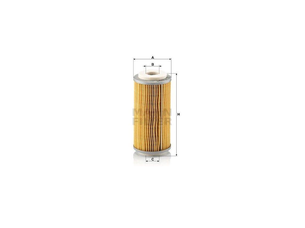 Palivový filtr MANN-FILTER H 822/1 x