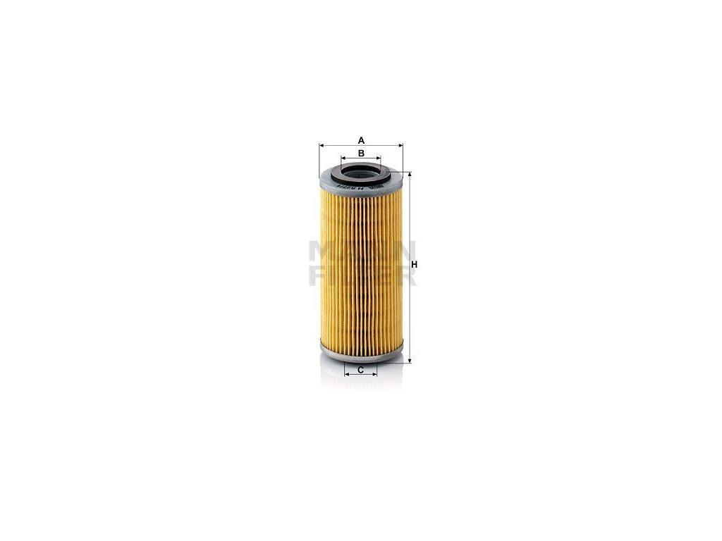 Olejový filtr MANN-FILTER H 827/1 n