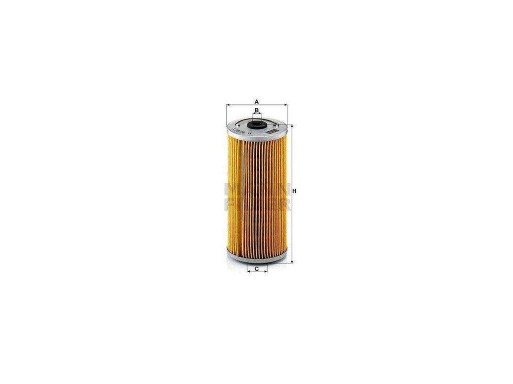 Olejový filtr MANN-FILTER H 829/1 x