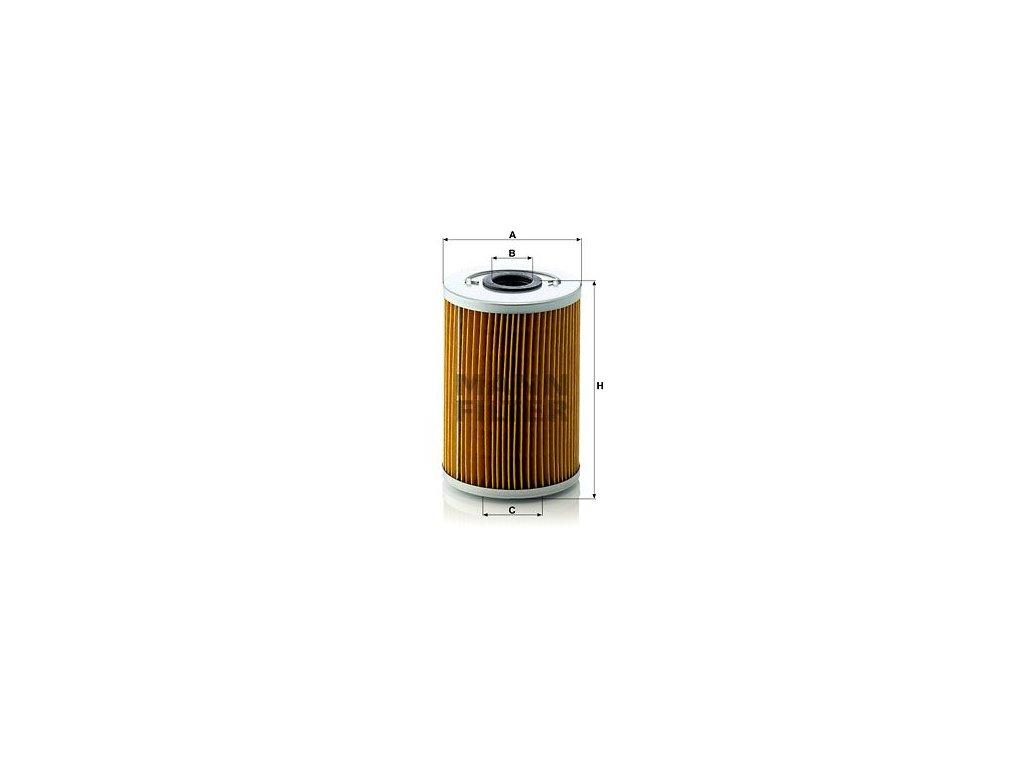 Olejový filtr MANN-FILTER H 929 x