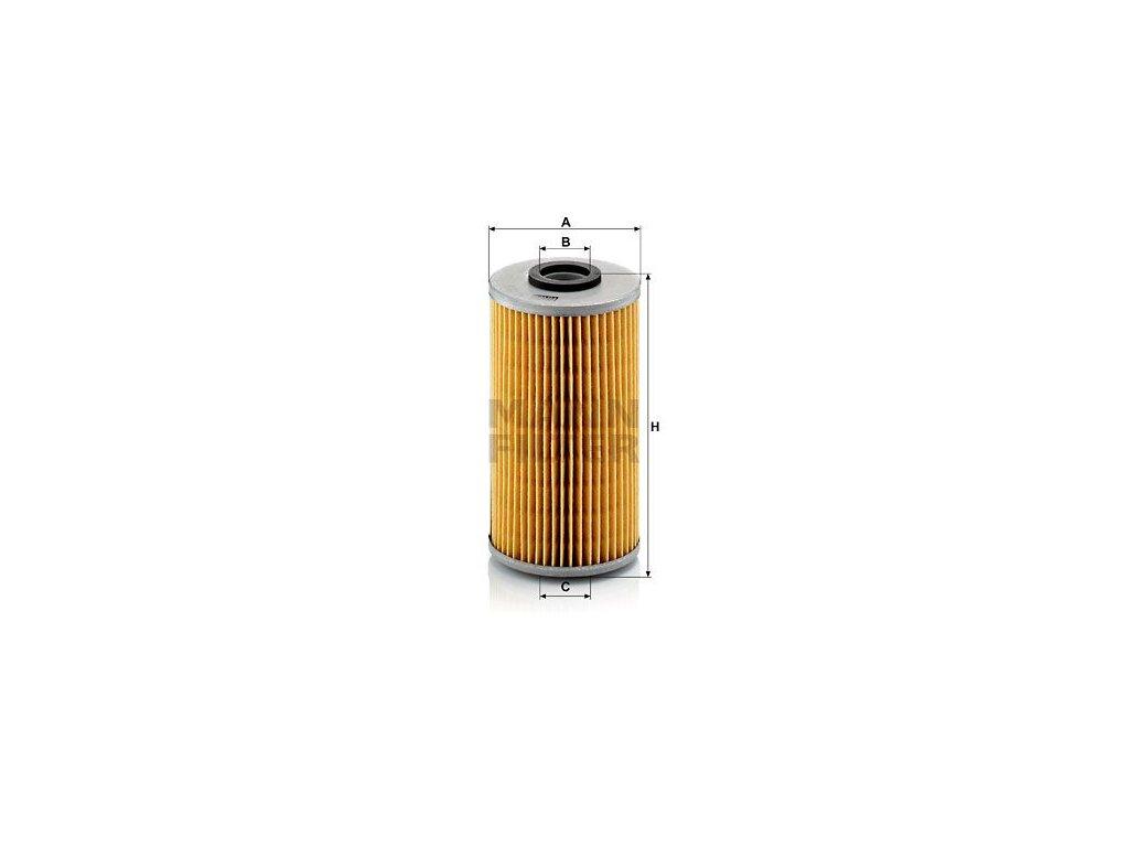 Olejový filtr MANN-FILTER H 939