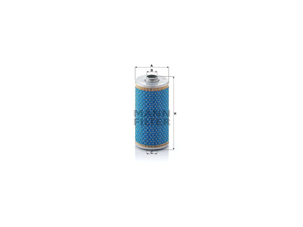 Olejový filtr MANN-FILTER H 943/7 x