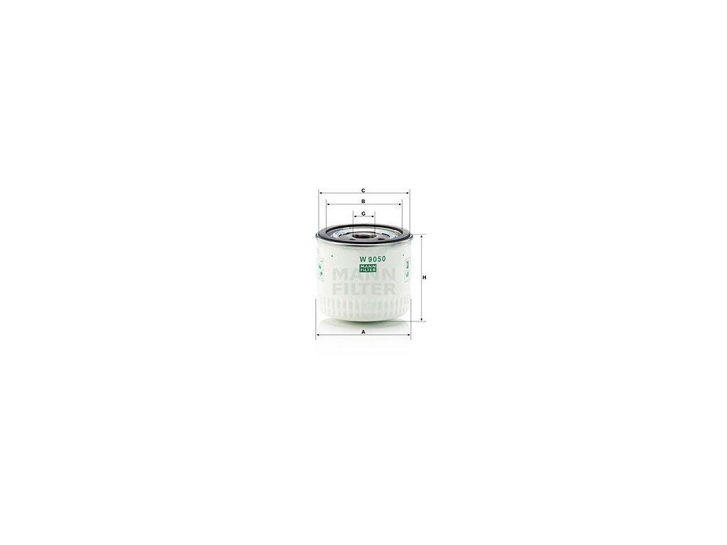 Olejový filtr MANN-FILTER W 9050