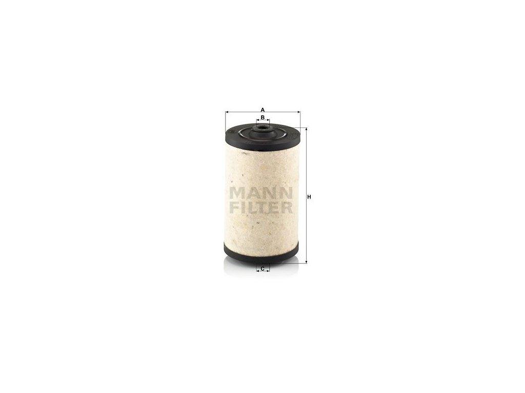 Palivový filtr MANN-FILTER BFU 811