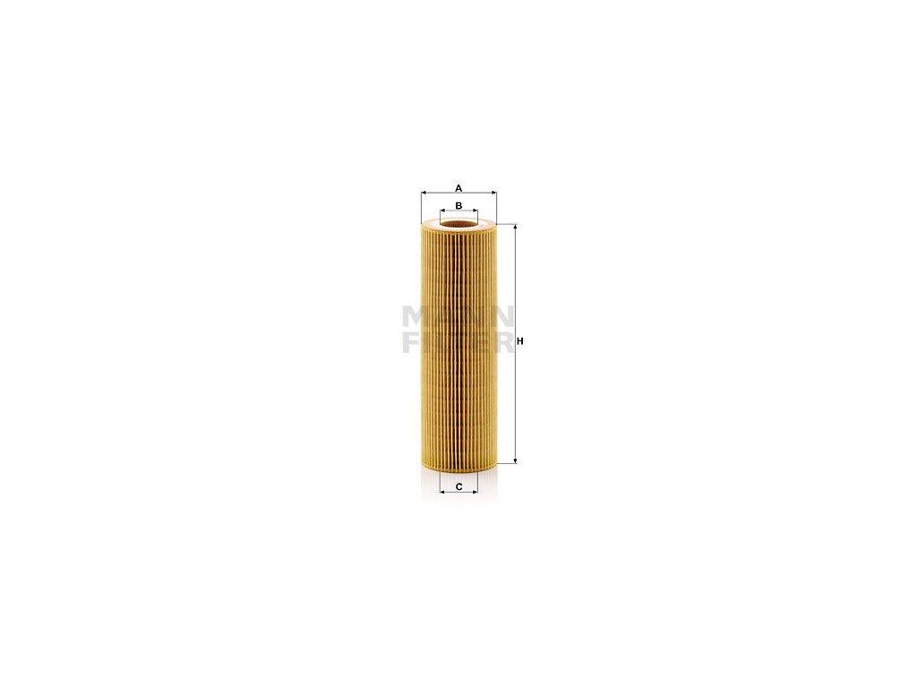 Olejový filtr MANN-FILTER HU 1077/1 z