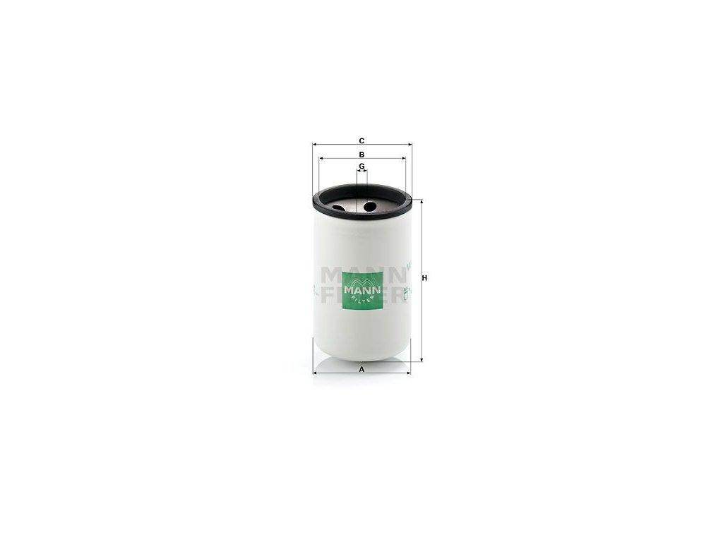 Olejový filtr MANN-FILTER W 925