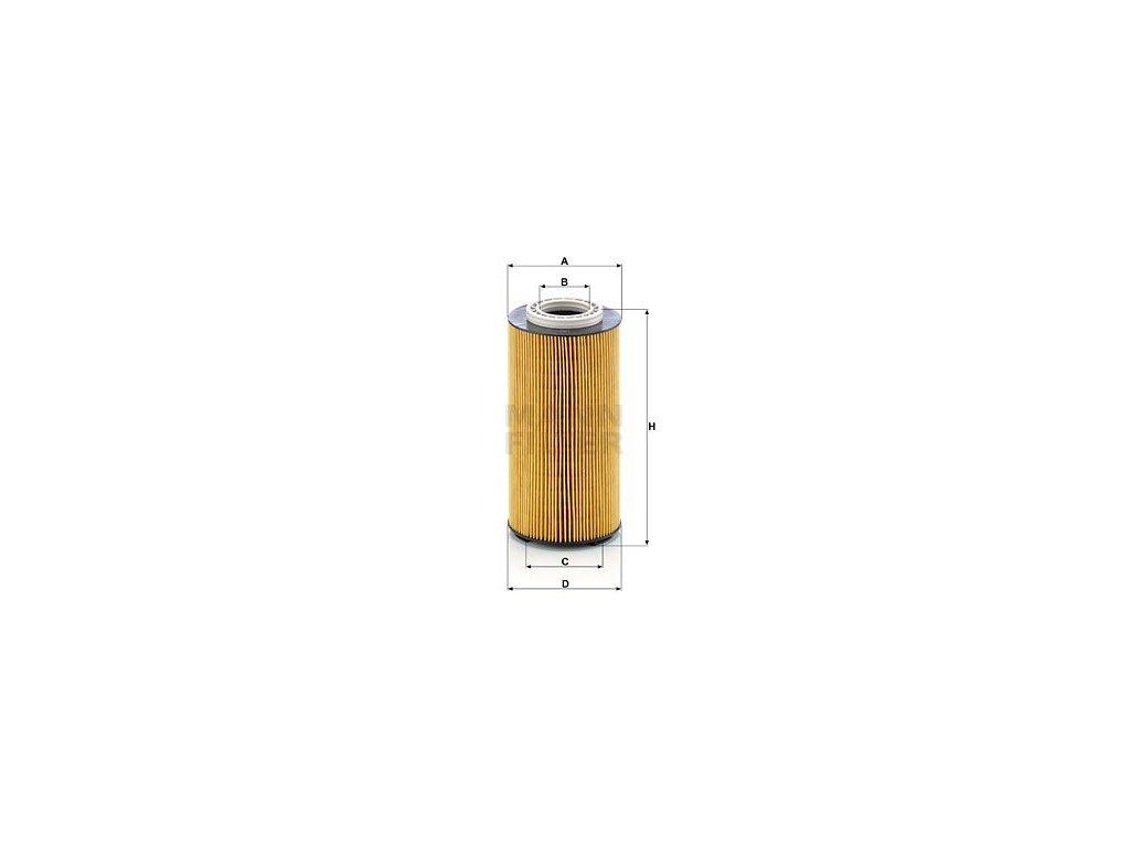 Olejový filtr MANN-FILTER HU 12 003 x