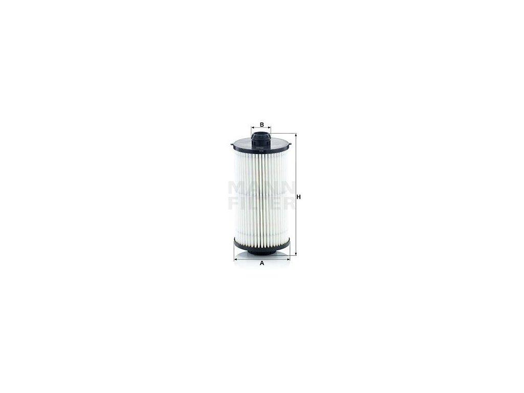 Olejový filtr MANN-FILTER HU 12 008 x