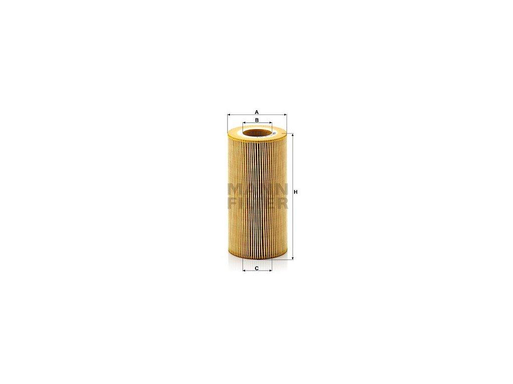 Olejový filtr MANN-FILTER HU 12 103 x