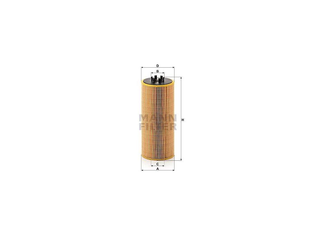 Olejový filtr MANN-FILTER HU 12 110 x