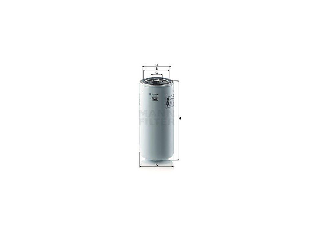Olejový filtr MANN-FILTER WD 13 145/3