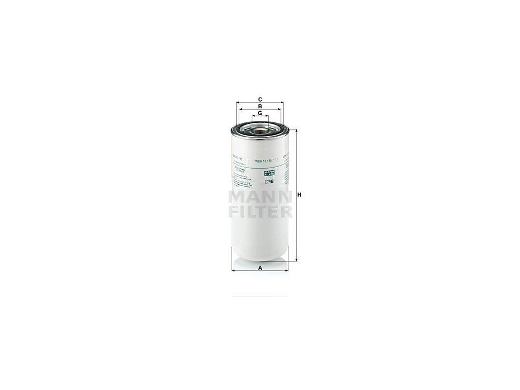 Palivový filtr MANN-FILTER WDK 13 145