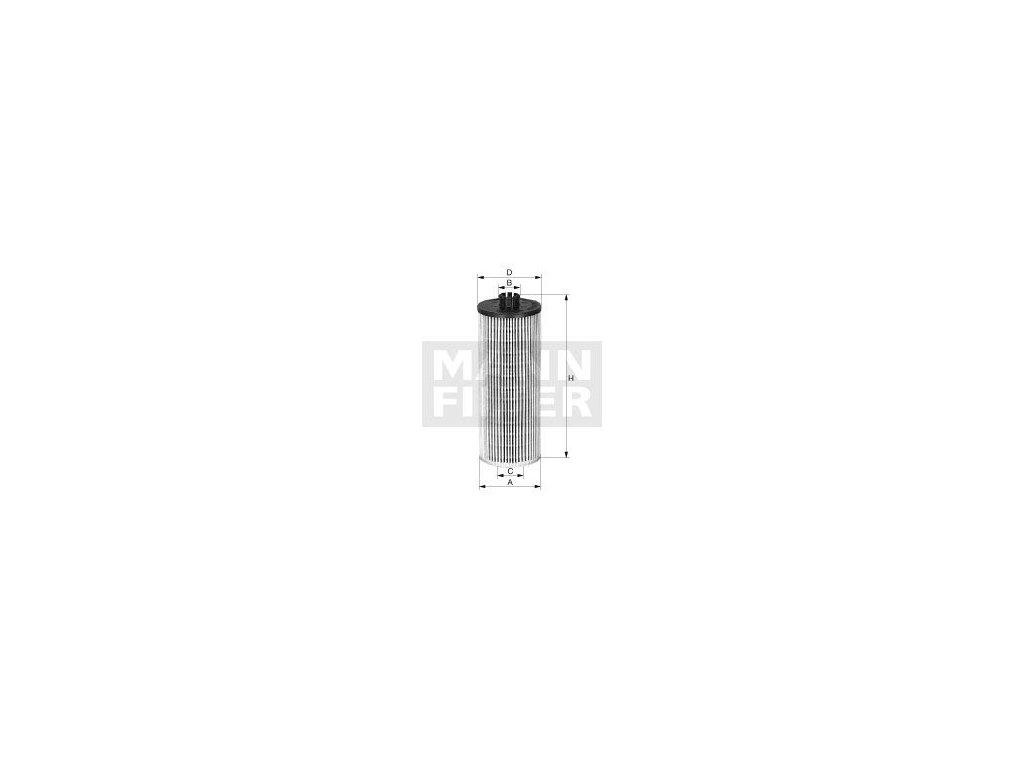Olejový filtr MANN-FILTER HU 12 122 x