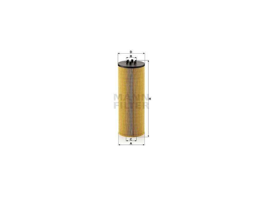 Olejový filtr MANN-FILTER HU 12 140 x