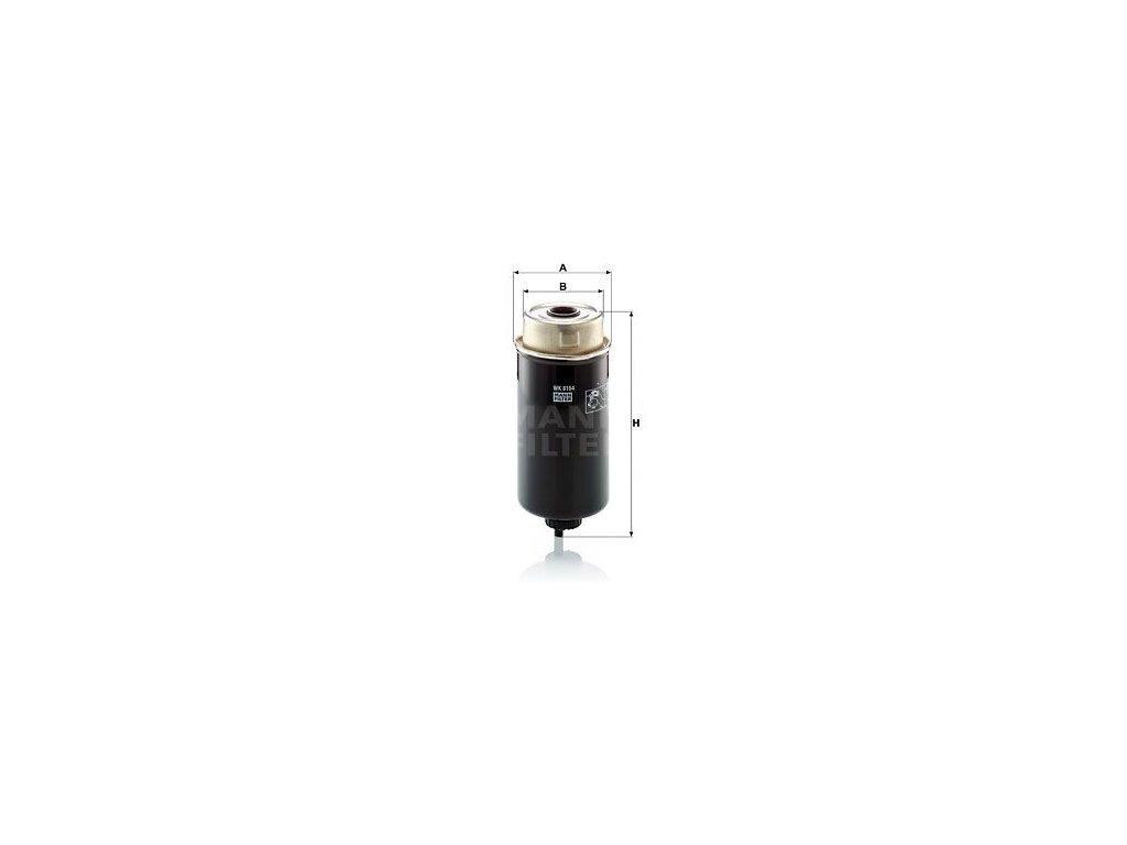 Palivový filtr MANN-FILTER WK 8164