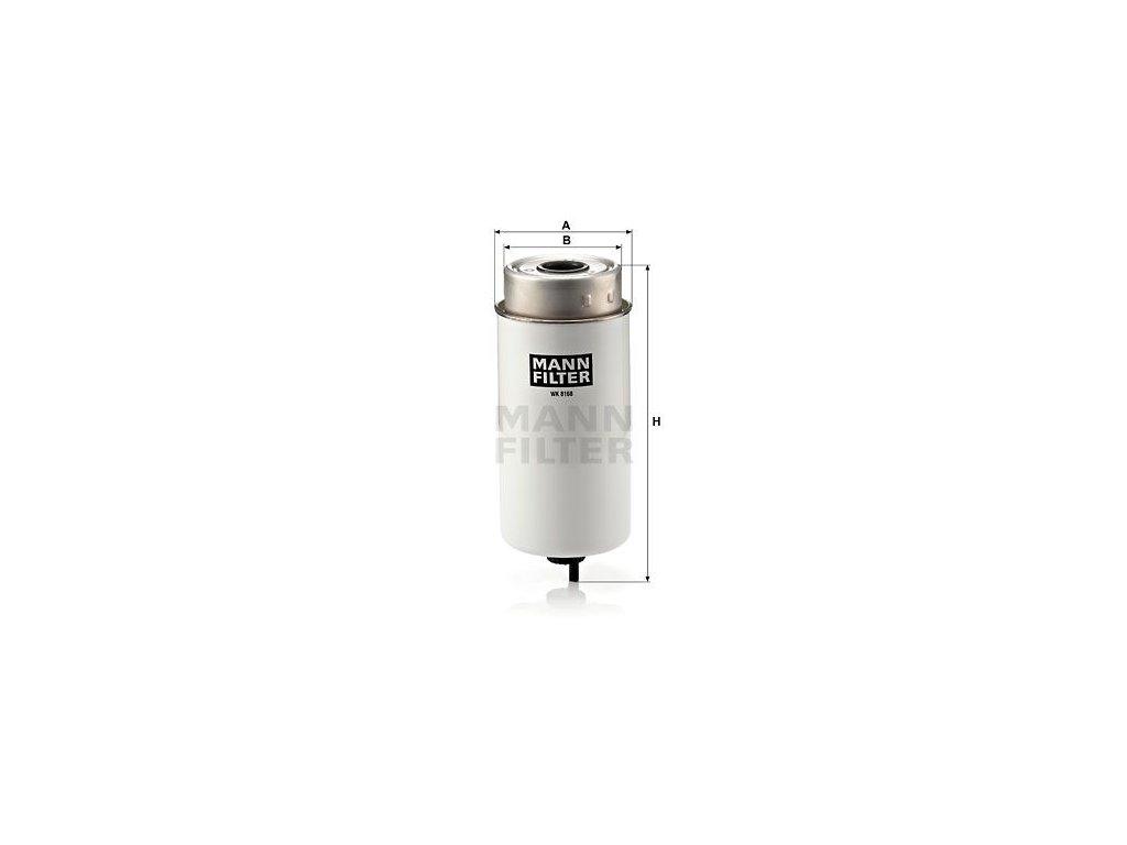 Palivový filtr MANN-FILTER WK 8168